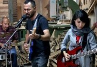 Afghan rock band struggles to hit right note in Iran
