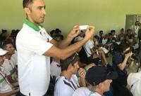قرعه کشی والیبال ساحلی برگزار شد
