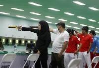تیم دو نفره تپانچه بادی ۱۰ متر ایران به فینال نرسید