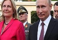 هدیه ویژه پوتین برای ازدواج خانم وزیر | جزئیات مراسم ازدواج وزیر خارجه اتریش