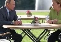دیدار ۳ ساعته مرکل و پوتین | مذاکره درباره توافق هستهای ایران