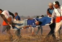 افزایش شمار زخمیهای تظاهرات بازگشت در نوارغزه