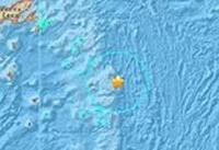 دو زمین لرزه قوی ساحل فیجی را لرزاند
