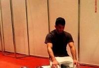 نماز خواندن حسن یزدانی قبل از فینال
