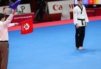 اولین مدال کاروان ورزش ایران بدست آمد/تکواندو چراغ اول راروشن کرد