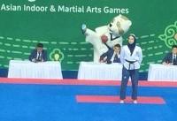 مرجان سلحشوری صاحب مدال نقره شد/ دومین مدال برای کاروان ایران