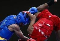 پیروزی عرفان آهنگریان در گام نخست مسابقات ووشو