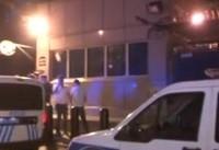 تیراندازی و حمله فرد ناشناس به سفارت آمریکا در آنکارا +فیلم