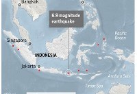 The Latest: Latest earthquake on Indonesian island kills 2