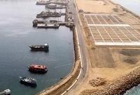 پهلوگیری نخستین نفتکش۵۰میلیون لیتری نفتگاز در بندر شهید بهشتی