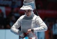 بازی های آسیایی جاکارتا / ناکامی مطلق بانوان شمشیرباز ایرانی