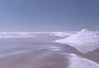 خطر بارش بارانهای نمکی در صورت خشک شدن دریاچههای نمک