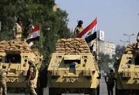 کشته شدن افسر مصری بر اثر انفجار بمب در سیناء