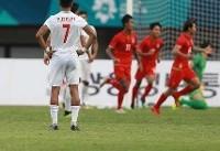 مسیر ایران برای قهرمانی فوتبال بازیهای آسیایی