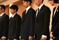 عذرخواهی ۴ ورزشکار خطاکار ژاپنی پس از بازگشت به کشورشان (+عکس)
