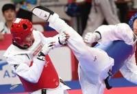 حذف دو بانوی تکواندوکار از بازیهای آسیایی / رجبی به یکچهارم رسید