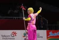 کیانی با کسب مدال نقره تالوی بازیهای آسیایی تاریخساز شد