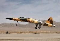 نخستین هواپیمای جنگنده ایرانی با نام «کوثر» رونمایی شد