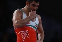 حسین خانی کشتی برده را به باروز باخت/ ادامه سریال شکست ناپذیری باروز مقابل ایرانیها