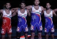 قهرمانی تیم کشتی آزاد ایران از نگاه اتحادیه جهانی