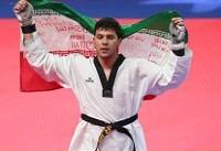کسب مدال طلای رقابت های آسیایی جاکارتا توسط سعید رجبی