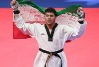 سعید رجبی قهرمان بازیهای آسیایی شد/ تکواندو به اولین طلا رسید