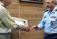 مراسم تکریم و معارفه فرماندهان سابق و جدید نیروی هوایی برگزار شد
