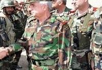 بازدید وزیر دفاع سوریه از مناطق جنوبی به دستور بشار اسد