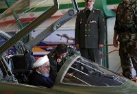 Iran inaugurates new, Iranian-made twin-seat fighter jet