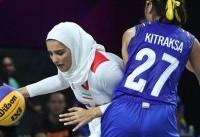 اظهارات سرمربی تیم بسکتبال سه نفره دختران بعد از باخت به تایلند