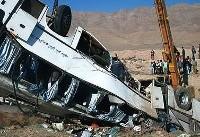 عیادت معاون وزیر بهداشت از مصدومان حادثه واژگونی اتوبوس دانشآموزان
