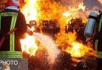 انفجار شدید در کارخانه صبا باتری گرمسار