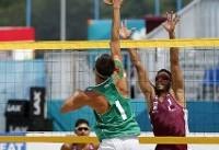 پیروزی والیبالیستهای ساحلی ایران در گام نخست قهرمانی آسیا