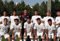 تیم فوتبال نوجوانان ایران مقابل هندوستان هم متوقف شد