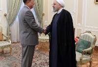 وزیر خارجه کره شمالی با روحانی دیدار کرد