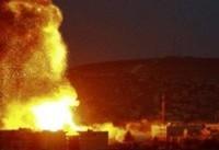 بمباران مناطق مختلف نوار غزه توسط رژیم صهیونیستی