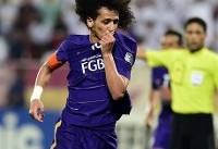 ستاره اماراتیها جام ملتهای آسیا را از دست داد