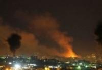 حمله مقاومت غزه به شهرکهای صهیونیست نشین
