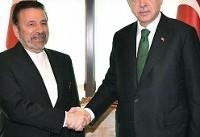 واعظی پیام رئیس جمهوری ایران را به اردوغان تسلیم کرد