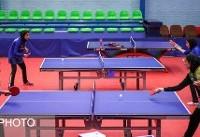 کشف استعدادهای جوان تنیس روی میز با برگزاری مسابقات تور ایرانی