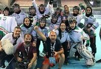 مدال تیم ملی اینلاین هاکی بانوان در آسیا قطعی شد