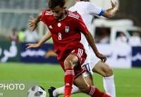 تساوی بدون گل ایران برابر ازبکستان در نیمه نخست