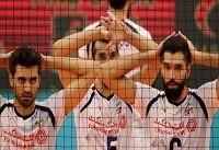 وضعیت تیم ملی والیبال در جدول ردهبندی رقابتهای قهرمانی جهان