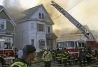 یک رشته انفجار چندین خانه در ماسوچوست را به آتش کشید