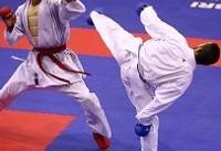 ۶ کاراتهکا روی تاتامی انتخابی تیم ملی