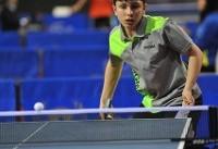 صعود احمدیان به جدول اصلی پینگپنگ قهرمانی جوانان جهان