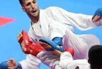 مهدیزاده برای کسب مدال برنز تلاش می کند/چهار کاراته کا حذف شدند