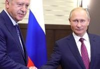 پوتین از توافق با ترکیه در ادلب خبر داد