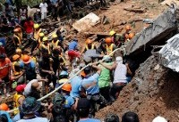 Dozens buried in Philippines landslide triggered by Typhoon Mangkhut