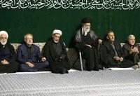 مراسم عزاداری حسینی در حسینیه امام خمینی برگزار شد